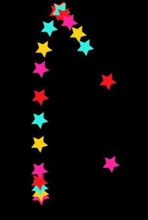 JavaScript网页鼠标移动特效代码HTML5制作SVG彩色星星光标特效动画效果