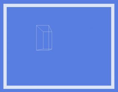 网页特效canvas代码设计制作随鼠标移动的3D立方体简笔画图像样式效果