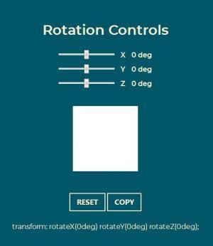 JavaScript网站滑块代码实现鼠标拖拽滑块按钮自定义设置正方形3D旋转效果