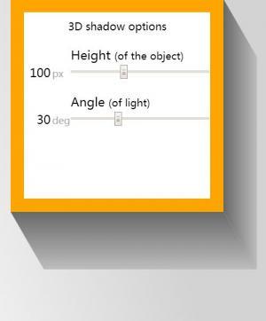 网页3D立体属性样式表CSS3绘制3D阴影正方体图像样式效果网站3D素材设计大全