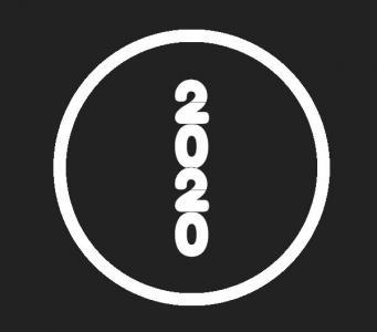 动画属性代码CSS3与JavaScript特效绘制圆形2020年数字展示动画效果