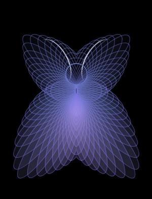 网站动画素材大全纯CSS3与HTML代码制作超级绚丽的蝴蝶图像样式效果