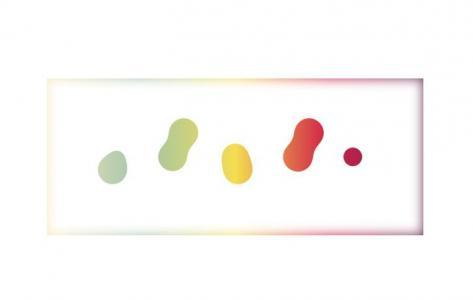 HTML5网页图像特效设计代码CSS3绘制彩色圆形相互融合动画效果