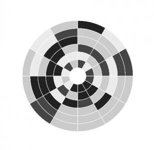 CSS3样式属性设计UI圆形扇形图像鼠标点击图像动态切换代码