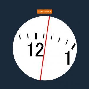 JS时间代码与H5标签网页设计创意仪表盘时钟免费时钟下载网站