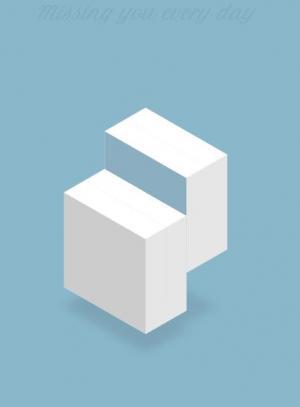 CSS和H5设计创意正方体切块loading动画效果