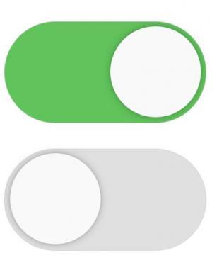 H5标签设计代码和CSS样式表美化checkbox 滑块开关按钮