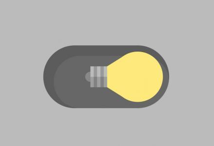 网页按钮素材免费下载CSS制作带灯泡图像的checkbook滑块按钮
