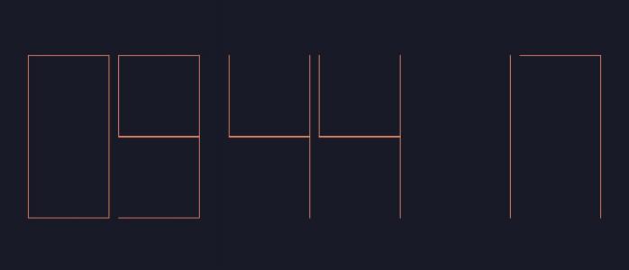 JS时间代码设计制作网页全屏数字时钟样式效果H5网页时钟素材免费下载