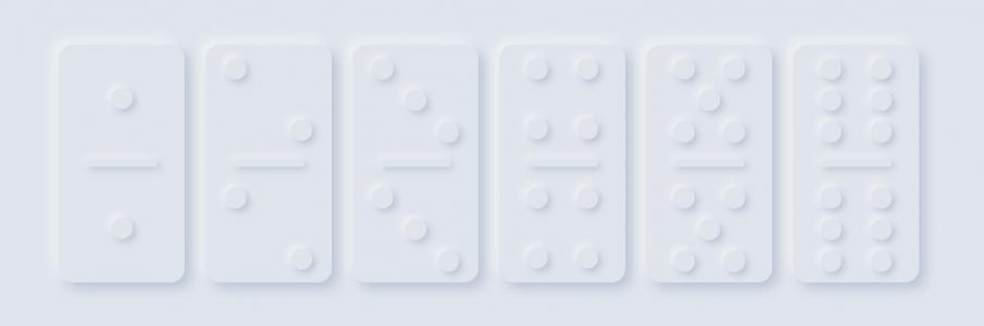 JavaScript和CSS特效代码设计制作3D带阴影效果的数字点