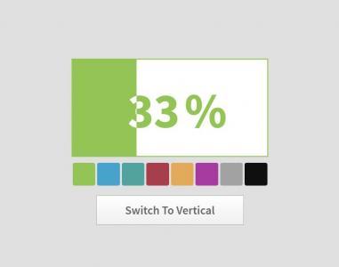 JavaScript代码和CSS3设计制作可通过调色板设置网页进度条背景颜色
