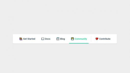 HTML5网站导航大全CSS样式表设计带icon图标的网页导航栏