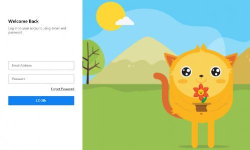 网页form表单素材设计效果纯CSS选择器代码制作简单用户登录框