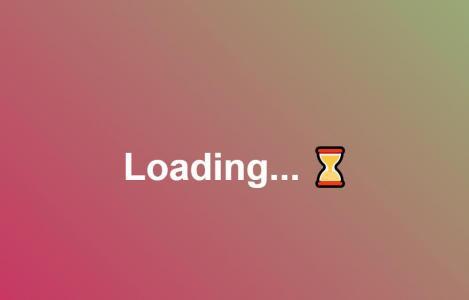 网页特效制作代码JS设计渐变背景loading加载图标样式效果