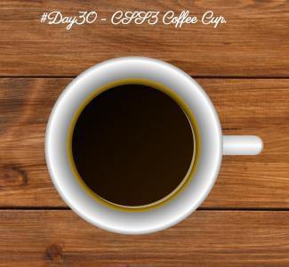 UI素材设计大全纯CSS3和HTML标签代码设计俯视茶杯样式效果