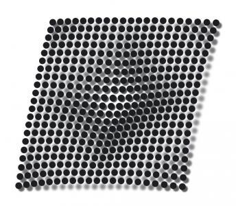 CSS动画属性样式表与JS特效绘制粒子群3D效果图波浪式动画效果