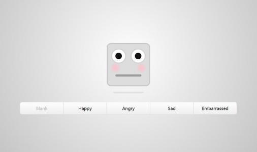 素材网站下载JS代码实现鼠标点击切换卡表情包动态切换效果