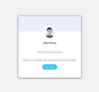 HTML5与JavaScript代码实现通过开关按钮设置用户卡片风格样式