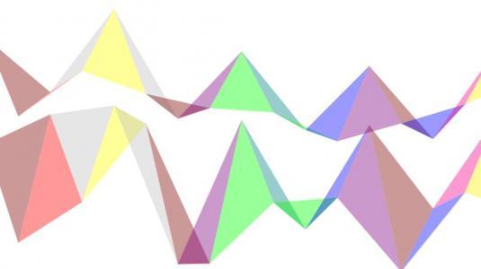 canvas网页特效代码设计制作炫酷动态菱形背景图像展示效果