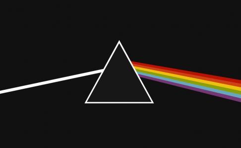 图形创意设计网站代码CSS设计制作七彩三角形背景图像样式效果