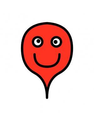 卡通动画素材设计与下载CSS3绘制红色卡通人物头像样式效果