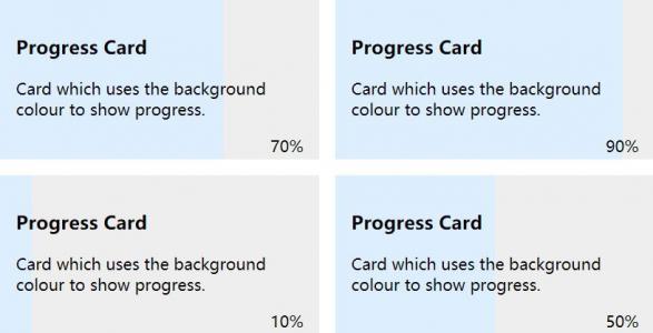 CSS3网页设计代码HTML标签设计制作百分比背景滑动卡片样式效果