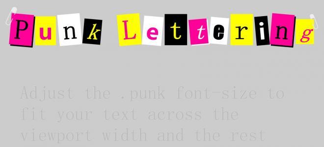 文字设计素材网站HTML样式表CSS3设计创意卡片式英文单词效果