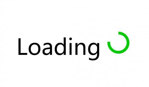 HTML5网页素材下载纯CSS3设计制作简单loading加载动画图标旋转效果