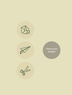 HTML5游戏网站设计与制作代码CSS3属性实现简单石头剪布的小游戏