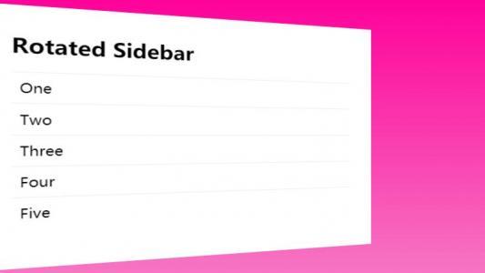 网站UI平面设计效果纯CSS3设计制作渐变背景透视列表样式代码