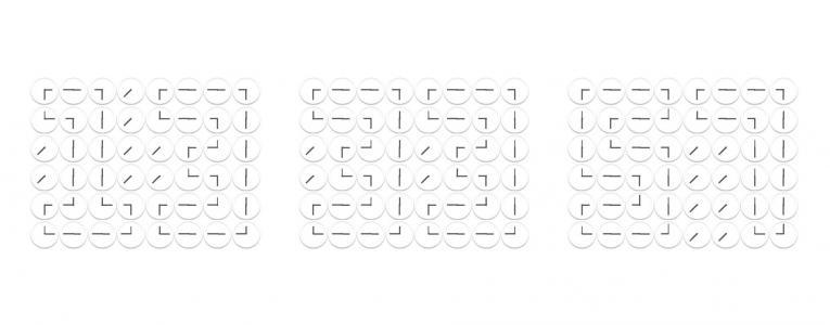 简笔画素材网页绘制代码JS和CSS动画属性设计简笔画简单数字时钟