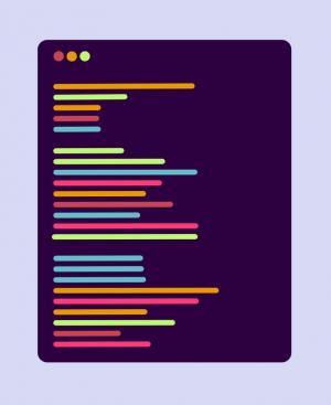 平面卡片UI样式设计效果CSS代码制作圆角卡片文本动态输出效果