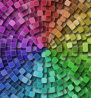 JS网页特效代码canvas画布制作炫酷纹理渐变背景图像动态切换效果