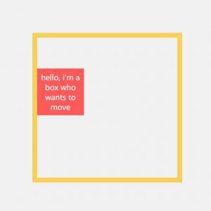动画素材网页制作代码H5和样式表CSS属性设计方形沿边框移动