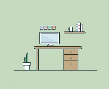 卡通图画免费下载网页布局代码HTML排版设计卡通室内布局效果