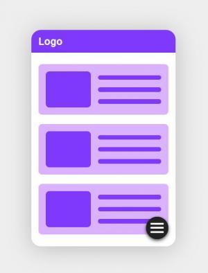 模板设计素材网页代码HTML制作移动端APP网页静态页面布局样式