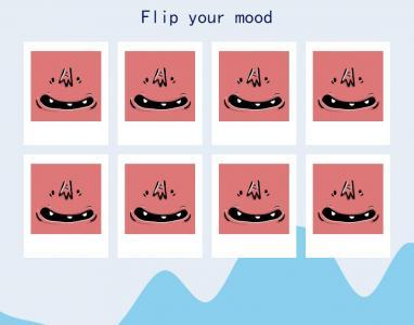 鼠标移动特效代码设计制作卡片图像鼠标滑过卡片翻转展特效效果