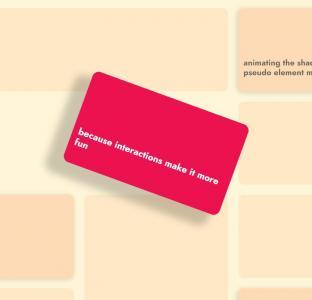 纯CSS3网页布局代码HTML5排版设计卡片鼠标滑过卡片旋转展示效果