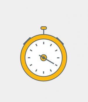 平面设计素材网免费下载H5代码大全和CSS设计卡通闹钟图像样式效果