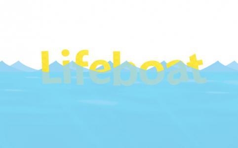 创意动态背景制作效果CSS代码和HTML设计卡通文字在水里漂浮动画效果