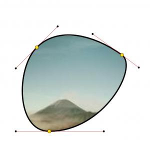 JavaScript设计素材网图片特效代码实现鼠标拖拽路径节点动态设置图像