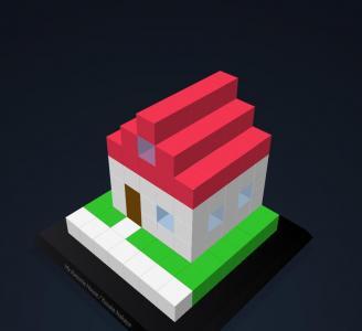 3D网页特效代码CSS和HTML制作可自定义设置的3D立体建筑图形