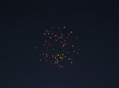 CSS特效素材大全HTML网站代码设计超级绚丽烟花绽放动画场景