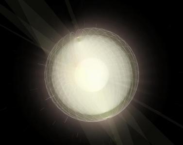 动画属性样式表大全CSS代码绘制超级炫酷耀眼发光旋转的3D立体球体