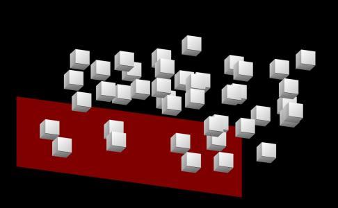 图形网页设计效果CSS3鼠标移动代码实现立方体群体组合文字效果