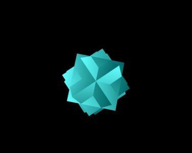 HTML5素材网站免费下载CSS动画属性绘制3D立体图形旋转动画效果