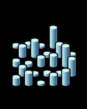 动态3D图形绘制代码HTML5标签样式表CSS属性绘制圆柱体动画效果