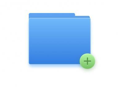 免费图标素材下载网站CSS属性代码绘制创意icon文件夹图标样式