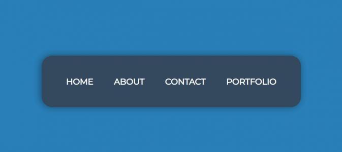 免费导航条设计代码CSS样式表美化网站导航栏鼠标滑过特效效果