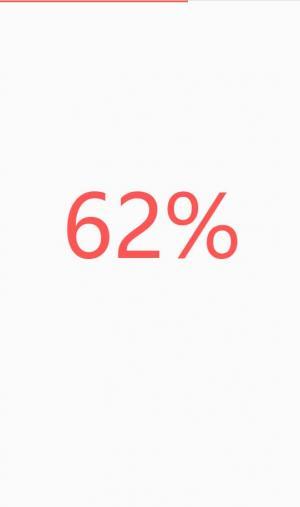 JavaScript与HTML代码设计顶部带进度条的数字百分比加载效果